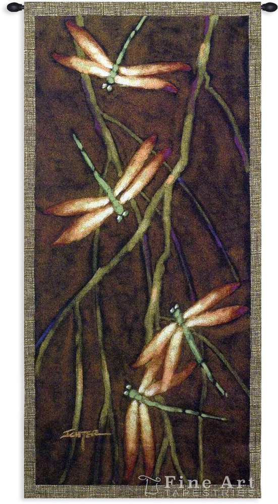 October Song 2 Dragonfly Tapestry Wall Hanging   Pure Country   PC3575wh
