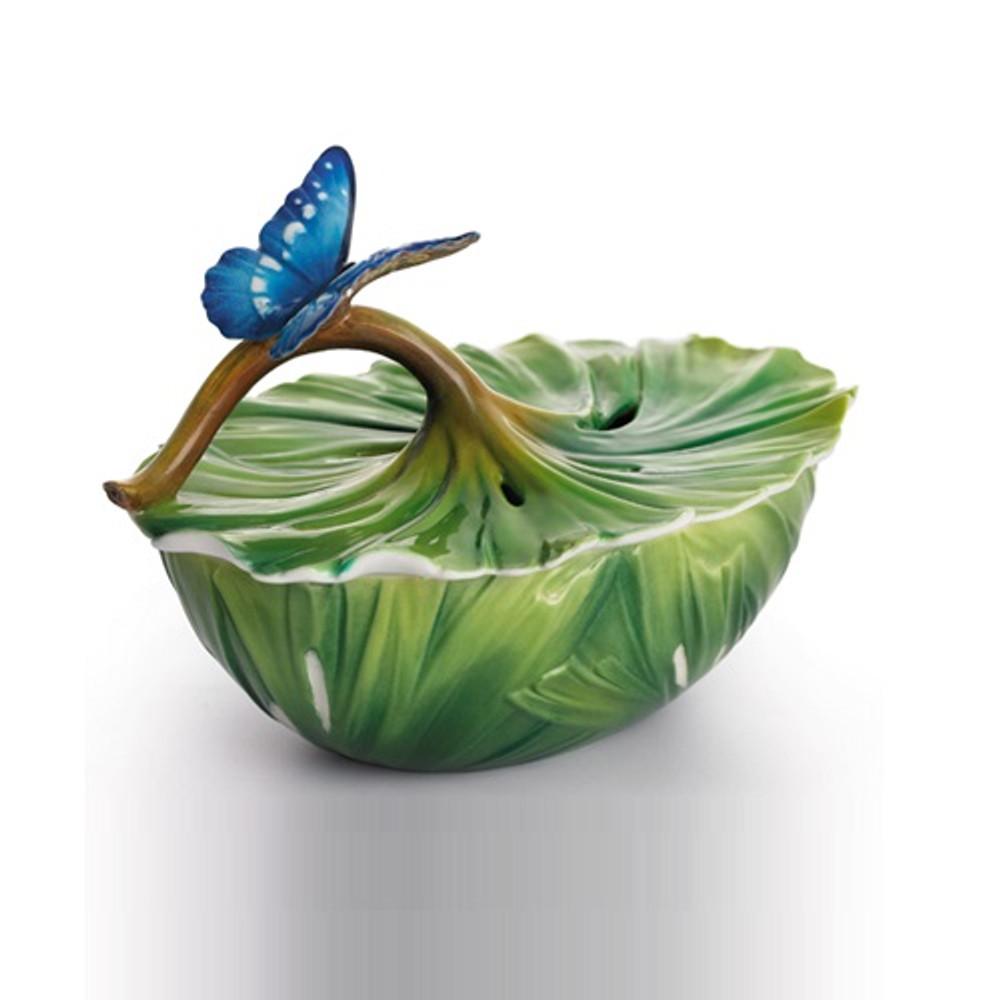 Rain Forest Little Dwellers Jewelry Box | Franz Porcelain Jewelry