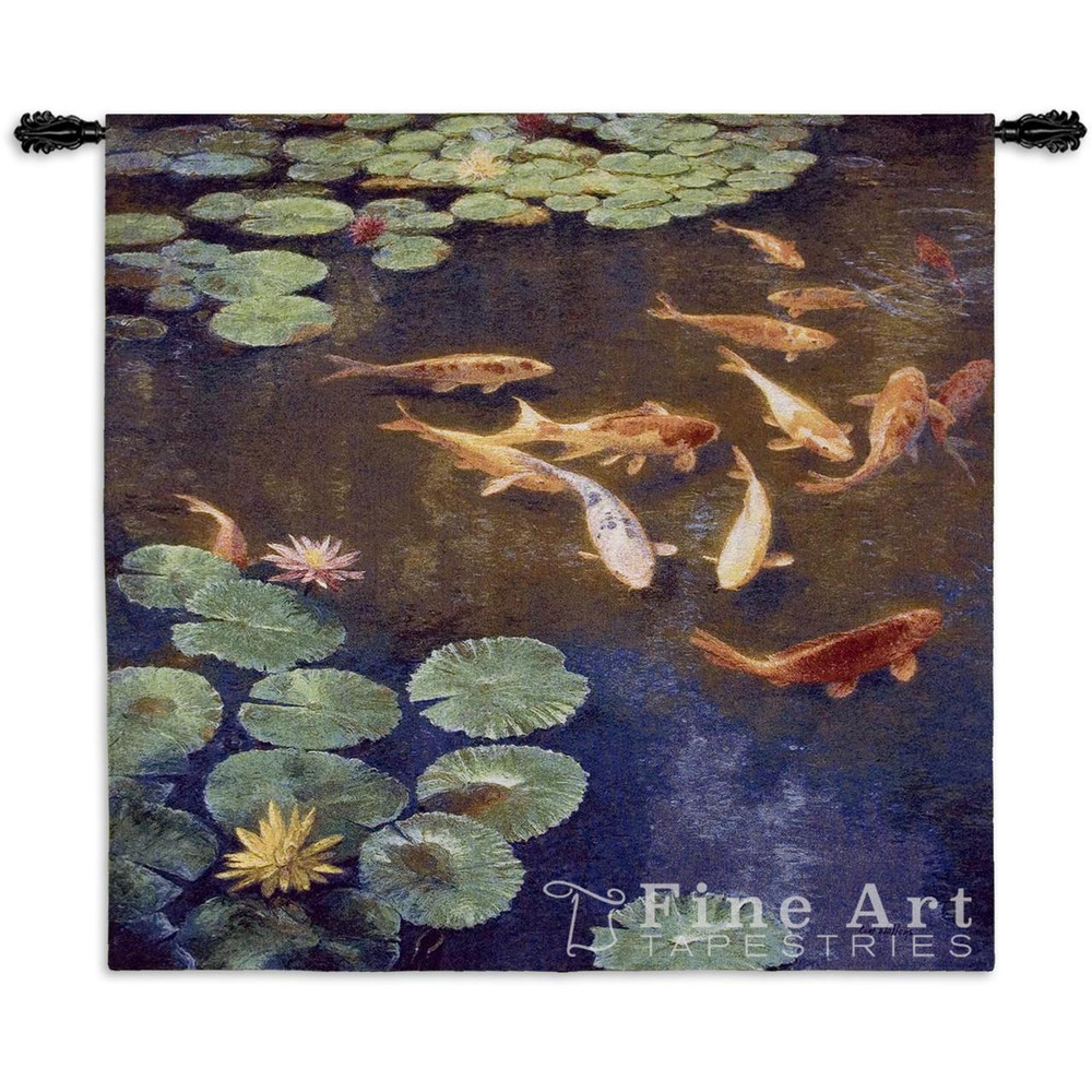 Koi Fish Tapestry Wall Hanging Inclinations | Pure Country | PC4139WH