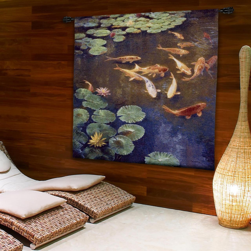 Koi Fish Tapestry Wall Hanging Inclinations | Pure Country | PC4139WH -2