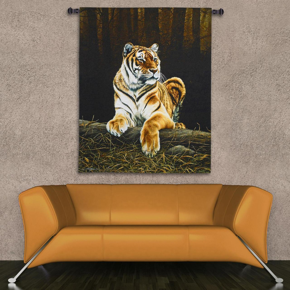 Grandeur Tiger Tapestry Wall Hanging | Pure Country | pc5192wh -2