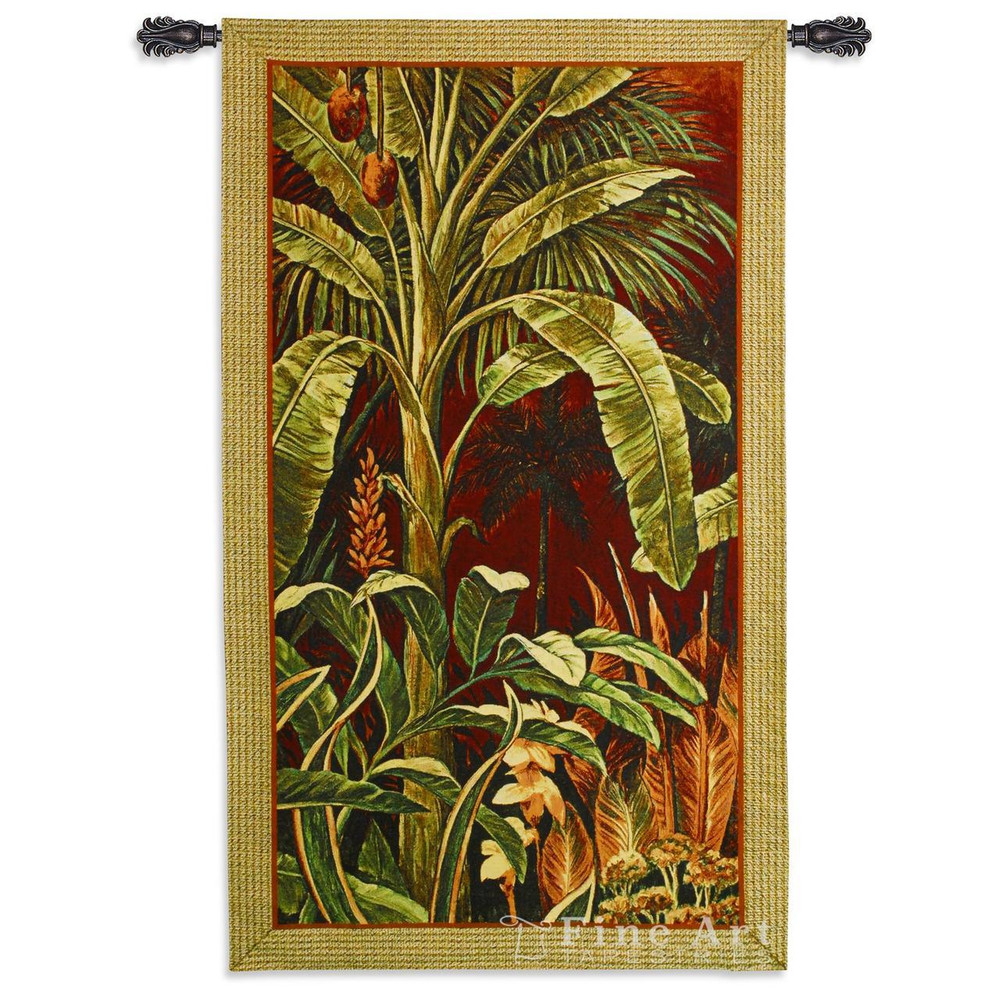 Palm Tree Tapestry Wall Hanging Bali Garden I | Pure Country | pc5527WH