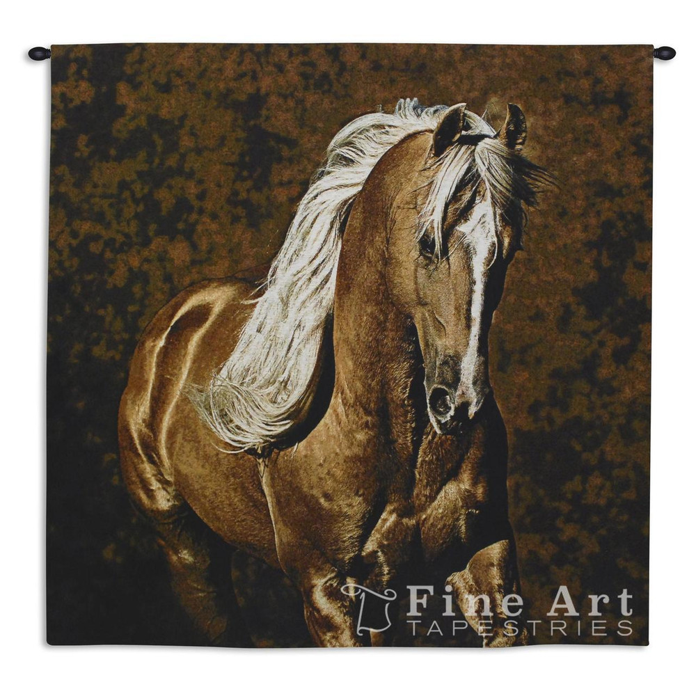 Golden Boy Palomino Horse Tapestry Wall Hanging | Pure Country | pc6076wh