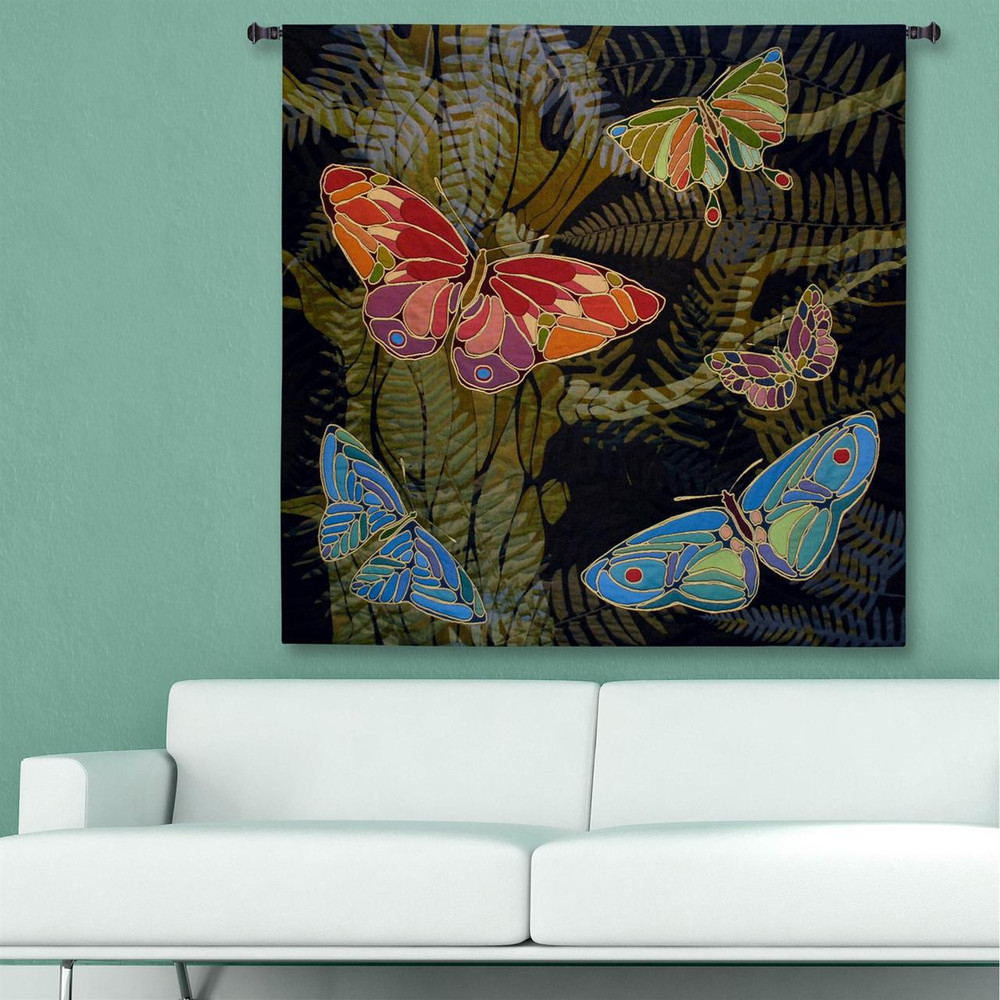 Woodland Butterfly Tapestry Wall Hanging | Pure Country | pc6118wh