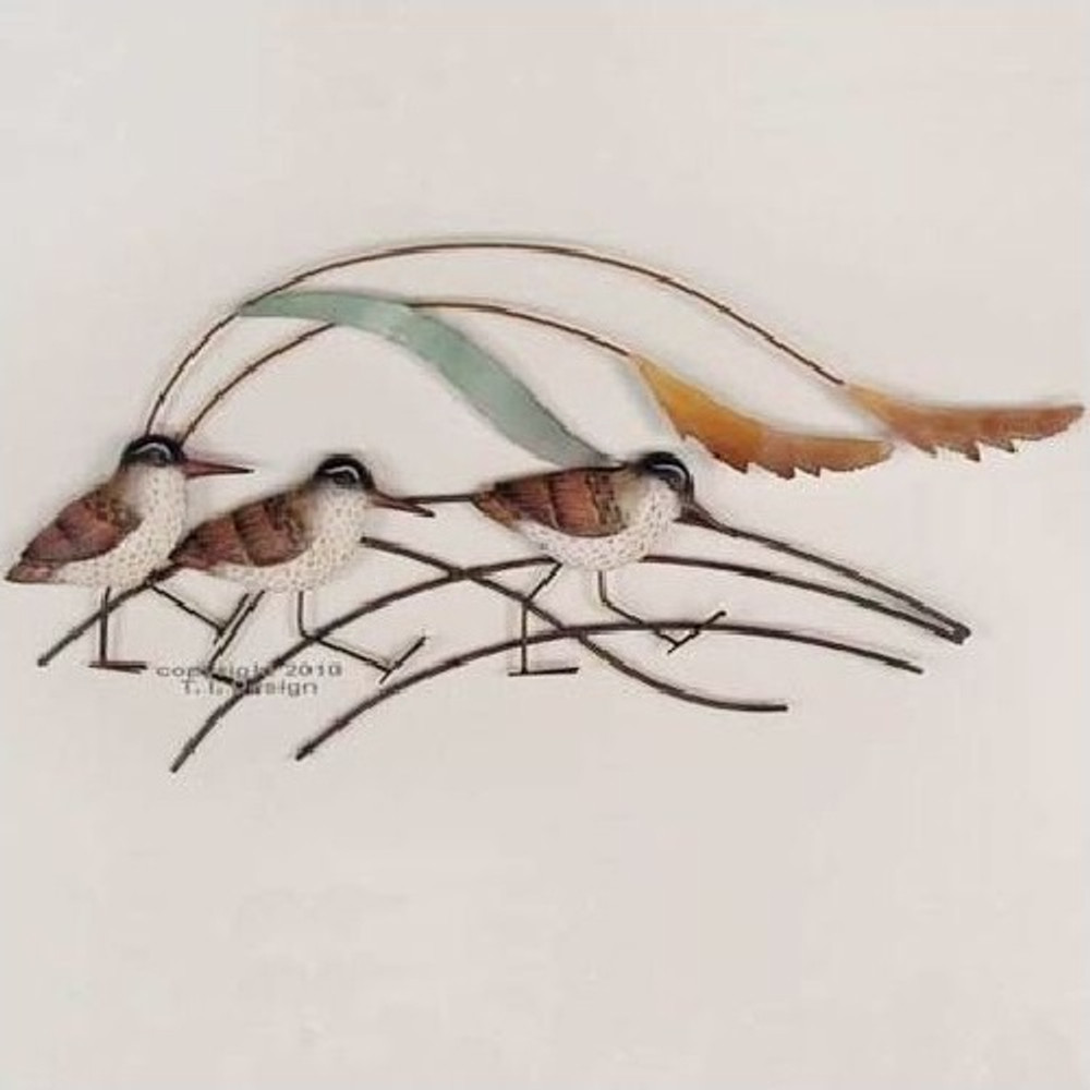 Sandpiper Small Wall Sculpture | TI Design | CW517