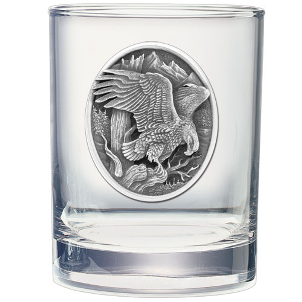 Eagle Decanter Chest Set | Heritage Pewter | HPICPTC109 -3