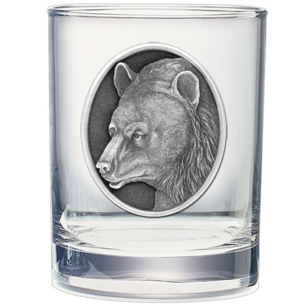 Black Bear Decanter Chest Set | Heritage Pewter | HPICPTC113 -3