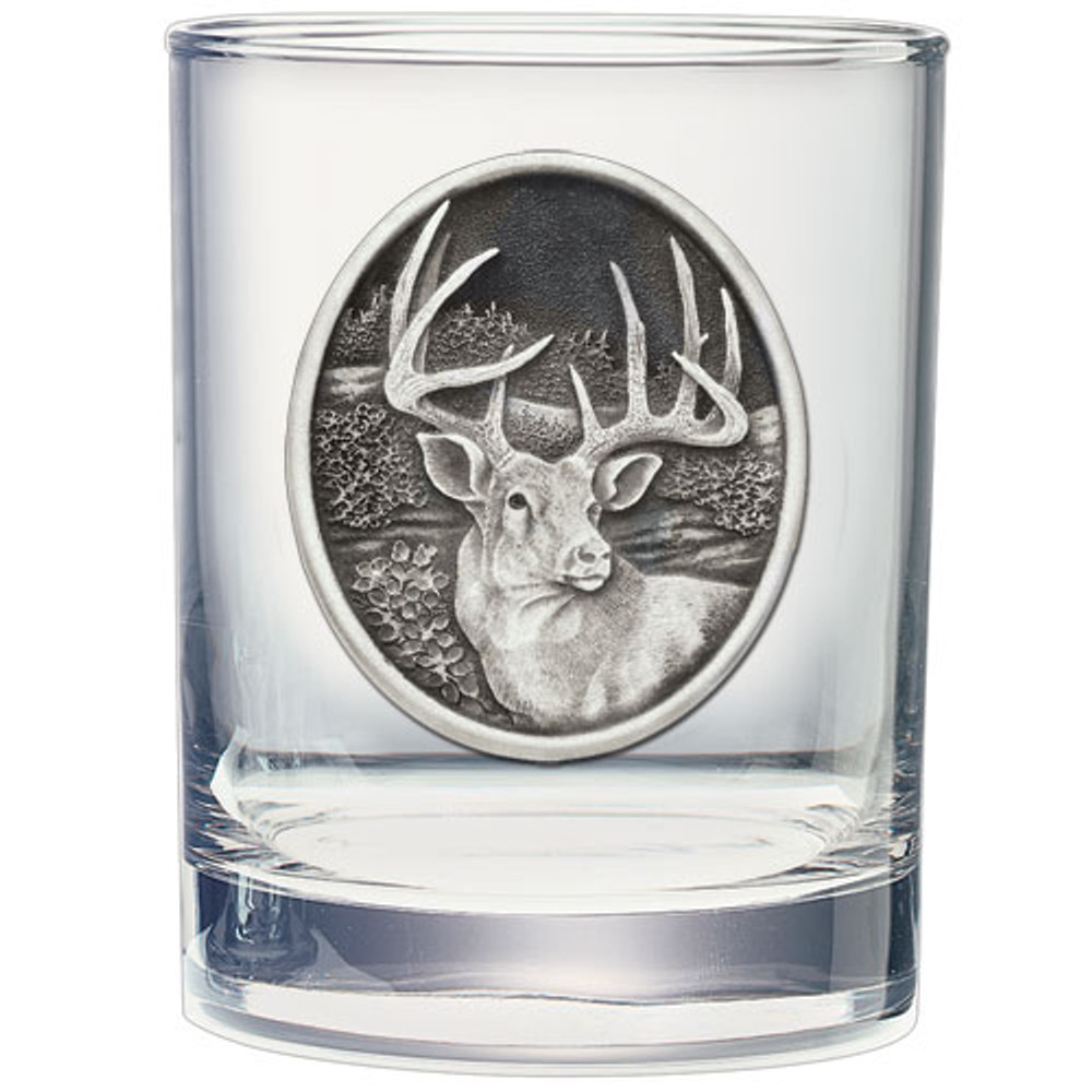 Whitetail Deer Decanter Chest Set | Heritage Pewter | HPICPTC114 -3