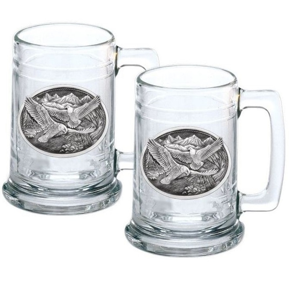 Eagle Stein Set of 2 | Heritage Pewter | HPIST109