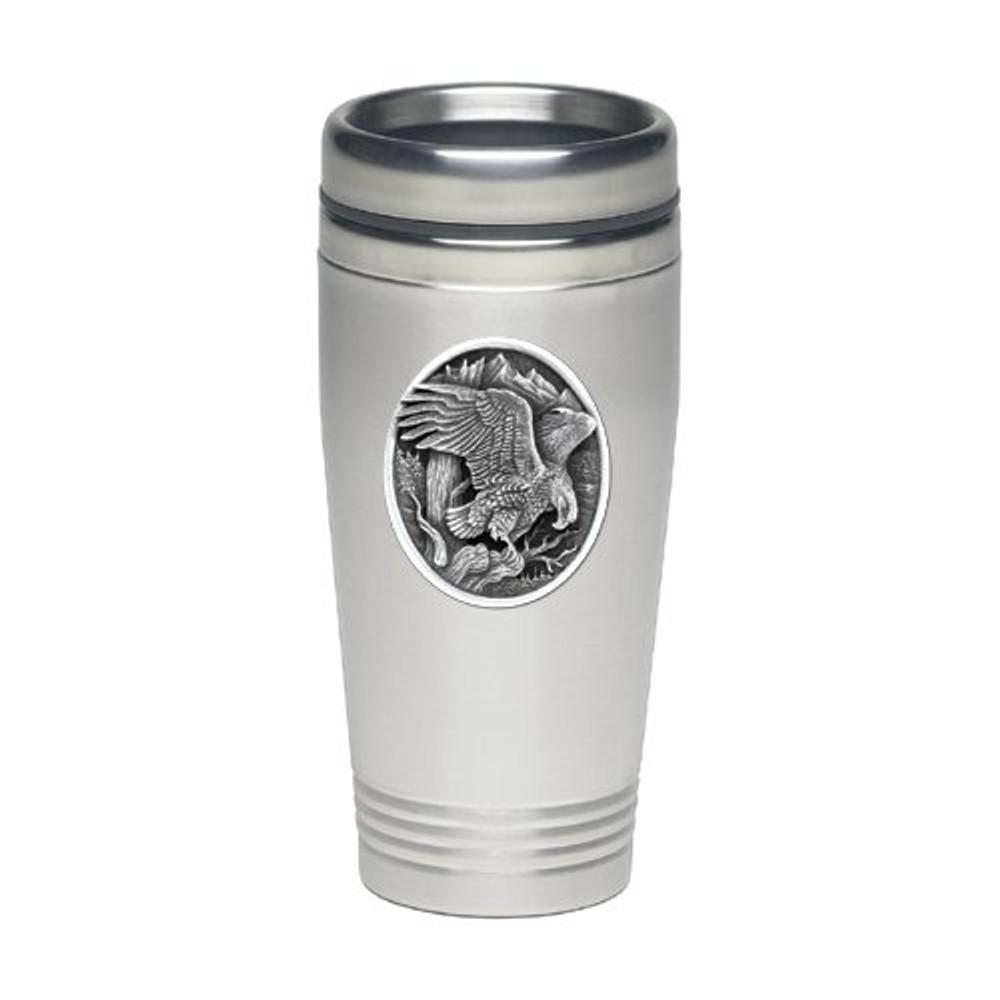 Eagle Thermal Travel Mug | Heritage Pewter | HPITD215
