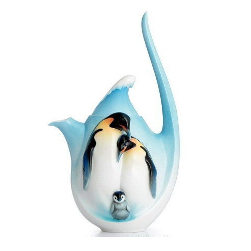 Playful Penguins Teapot | FZ02116 | Franz Porcelain Collection