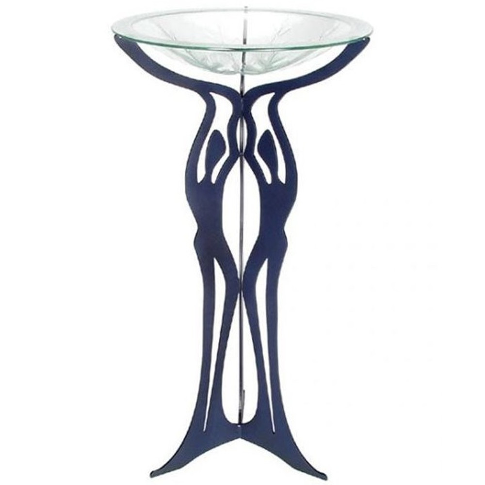 Three Graces Pedestal Birdbath | Cricket Forge | P005