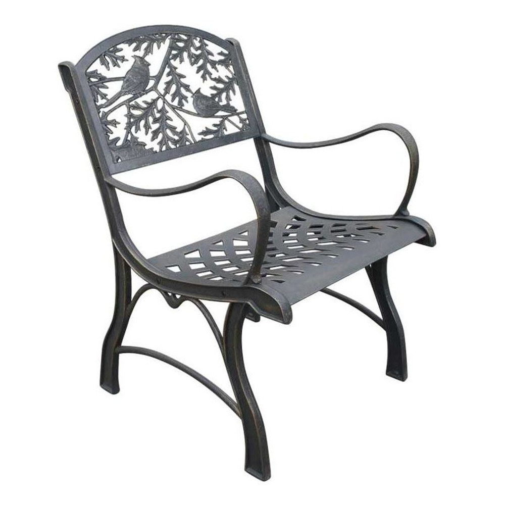 Cardinal Cast Iron Chair | Painted Sky | PSPC-ICA-200BR