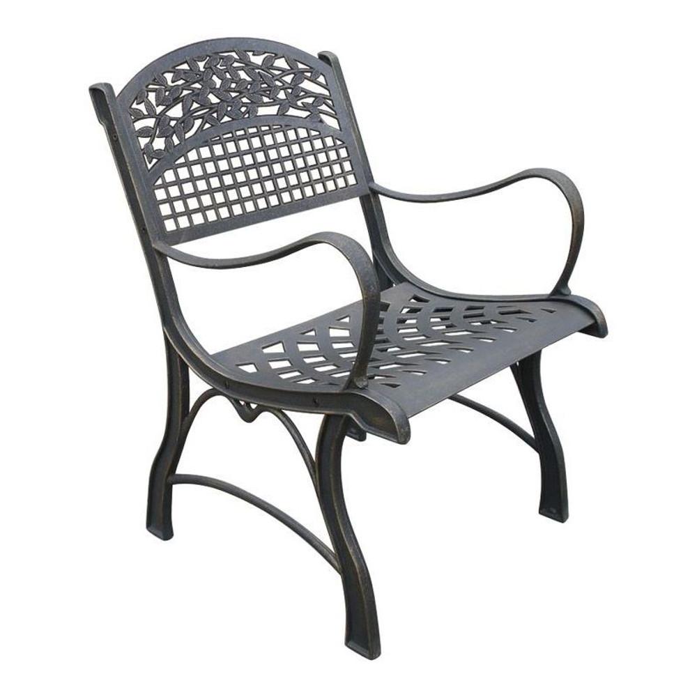 Leaf Cast Iron Chair | Painted Sky | PSPC-ILF-200BR