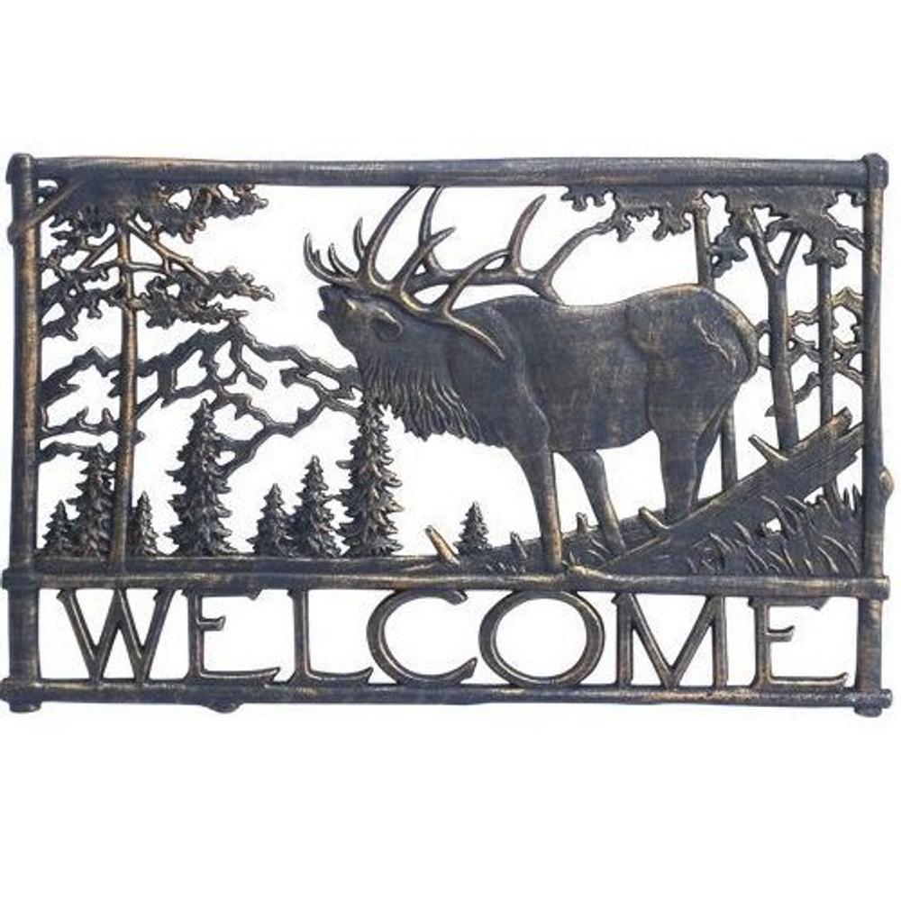 Elk Welcome Sign | Painted Sky | PSWS-EK