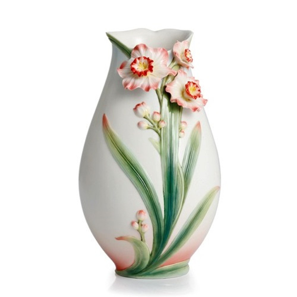 Daffodil Vase | FZ02301 | Franz Porcelain Collection