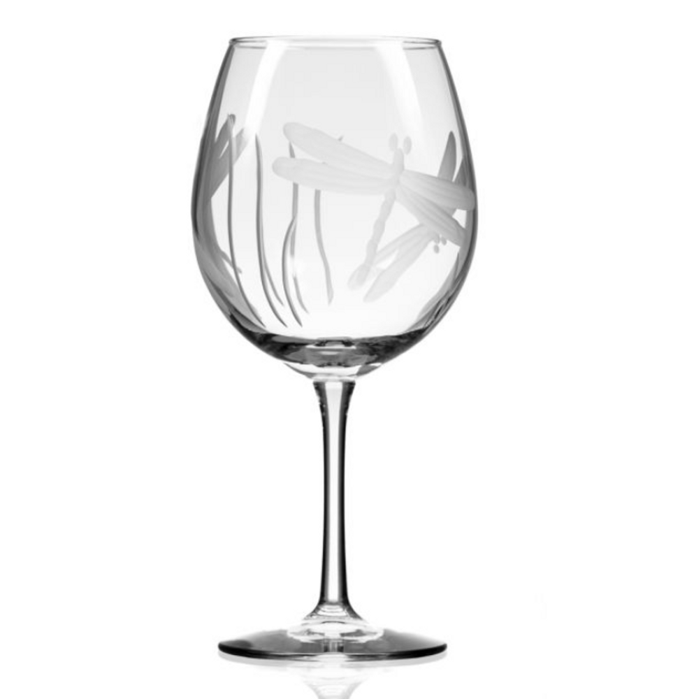 Dragonfly Balloon Wine Glass Set of 4 | Rolf Glass | 206172