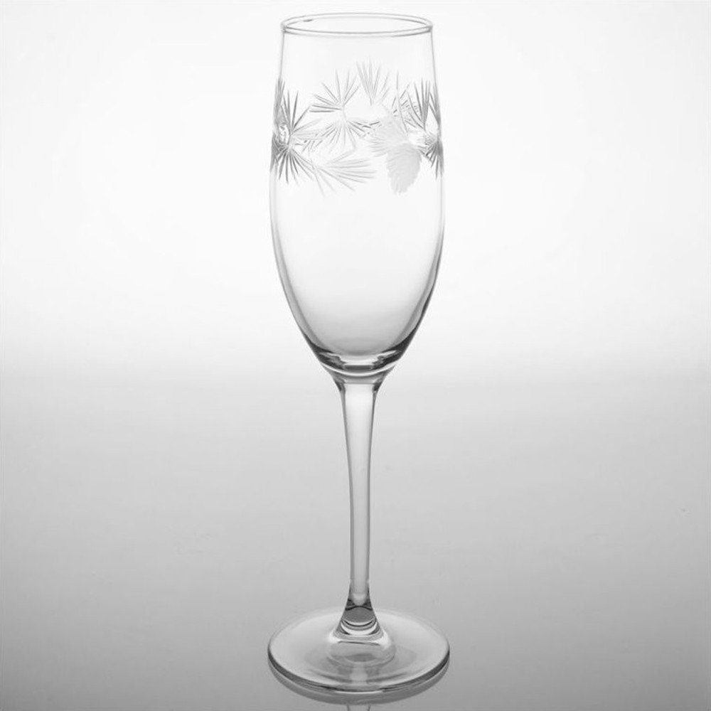 Icy Pine Flute Set of 4 | Rolf Glass | 207452