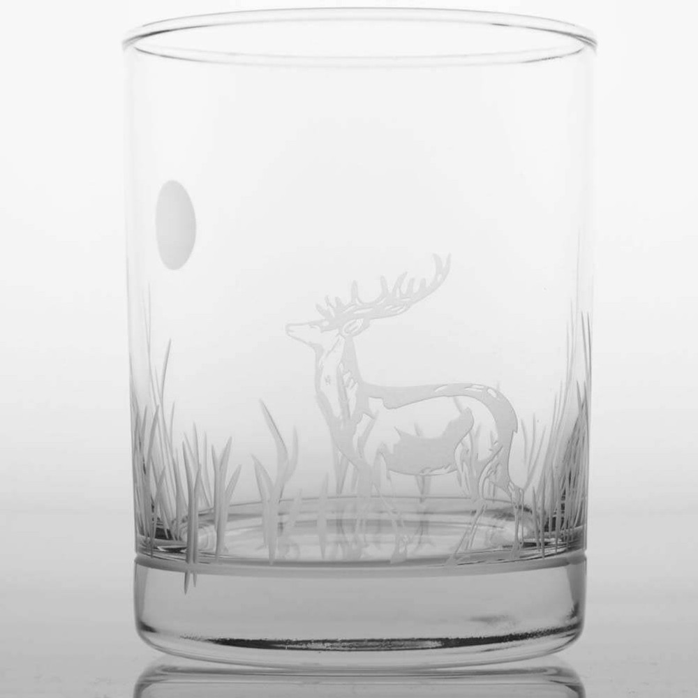 Elk Double Old Fashion Drink Glass Set of 4 | Rolf Glass | ROL218007