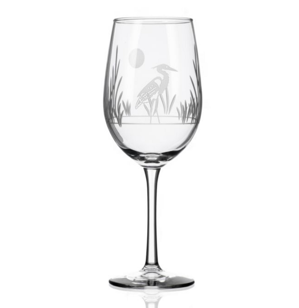 Heron White Wine Glass Set of 4 | Rolf Glass | 219424