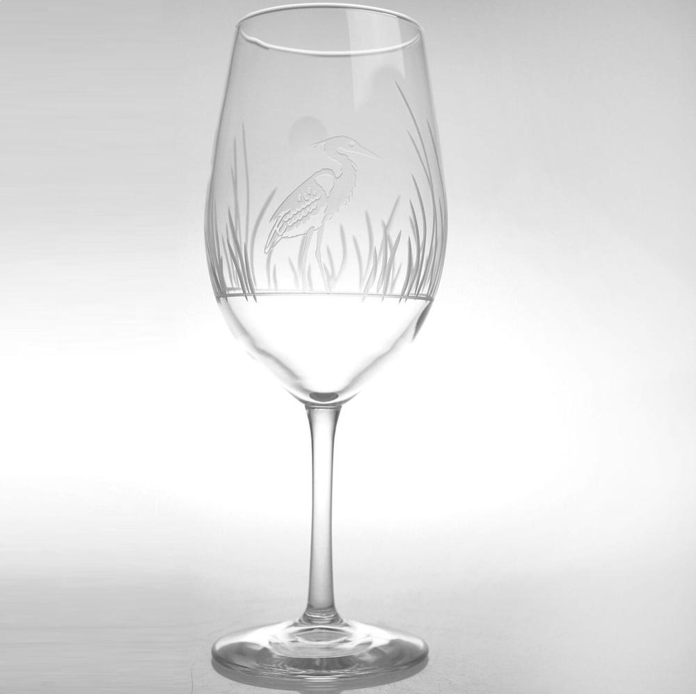 Heron All Purpose Wine Glass Set of 4 | Rolf Glass | 219264
