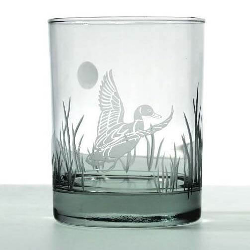 Duck Double Old Fashion Drink Glass Set of 4   Rolf Glass   220000