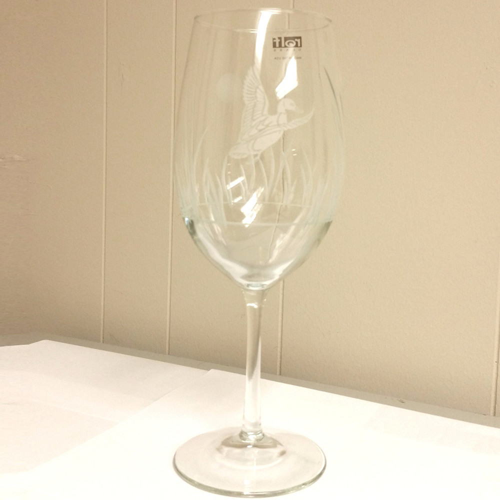 Duck All Purpose Wine Glass Set of 4