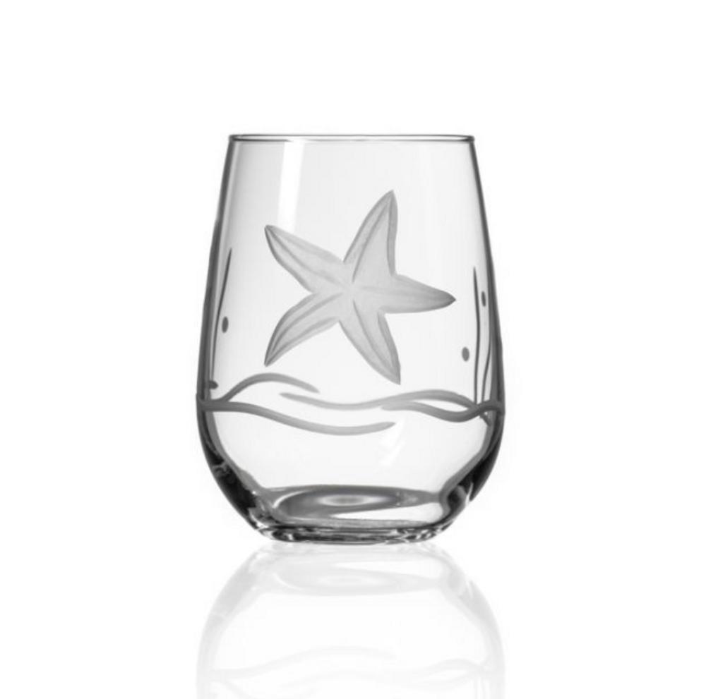 Starfish Wine Tumbler Set of 4 | Rolf Glass | 400334