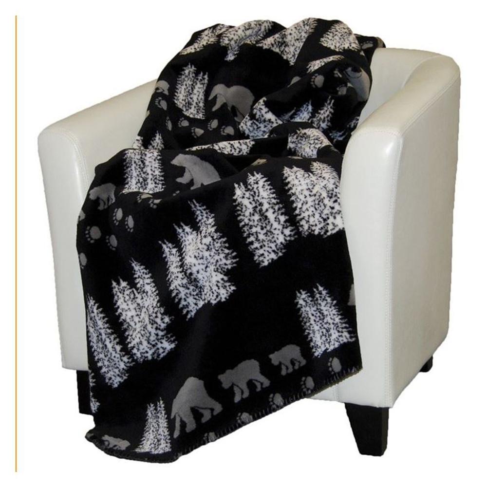 Black Bear Throw Blanket | Denali | DHC16101872 -2