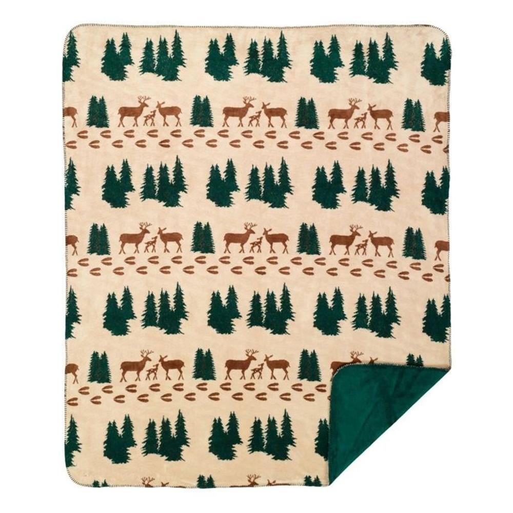 Denali Deer Throw Blanket | Denali | DHC16128572