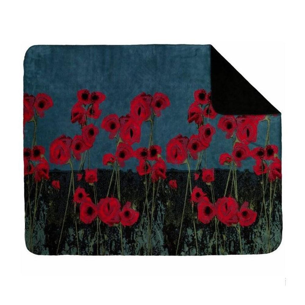 Poppies Throw Blanket | Denali | DHC16142172