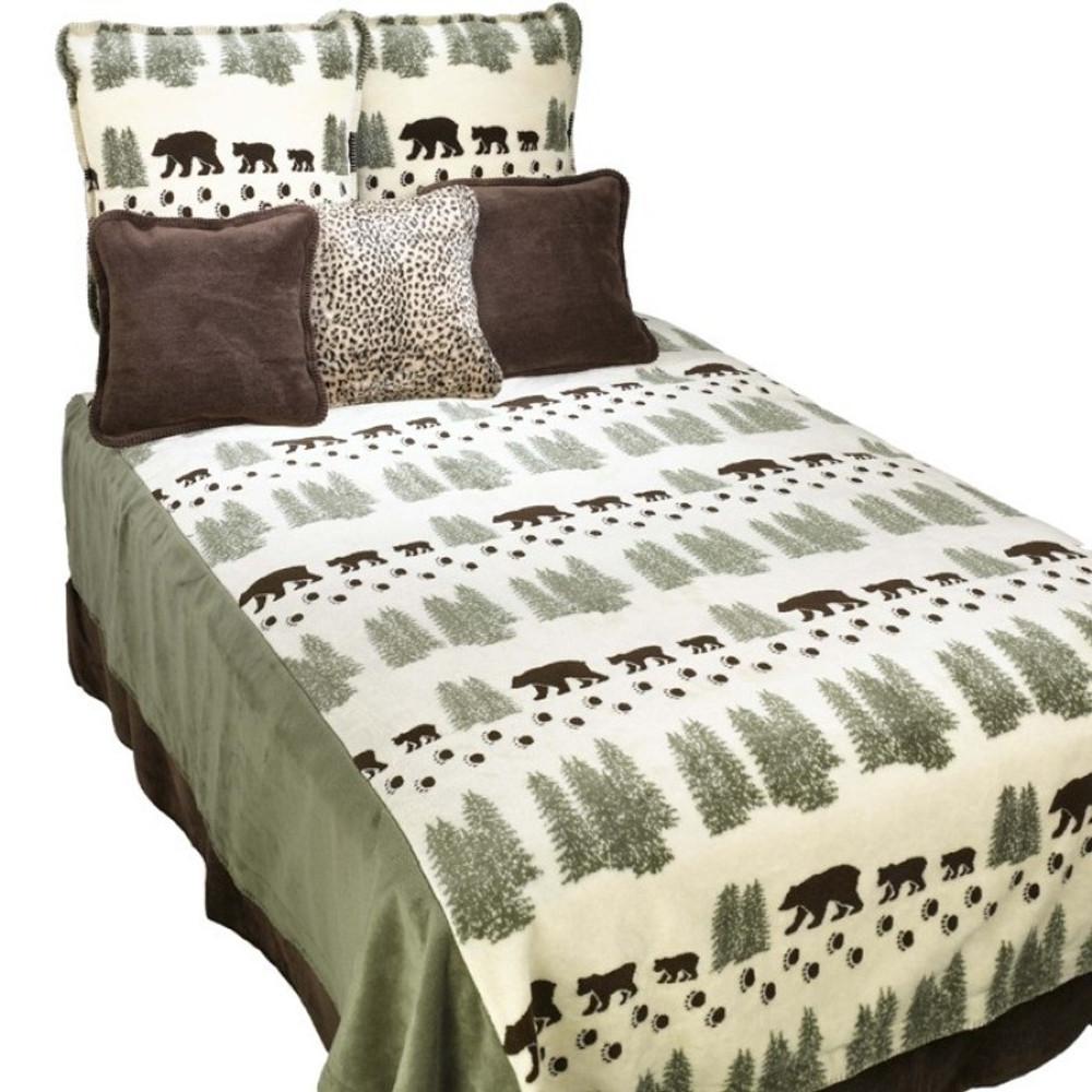 Pearl Bear King Bedspread | Denali | DHC51210389-King