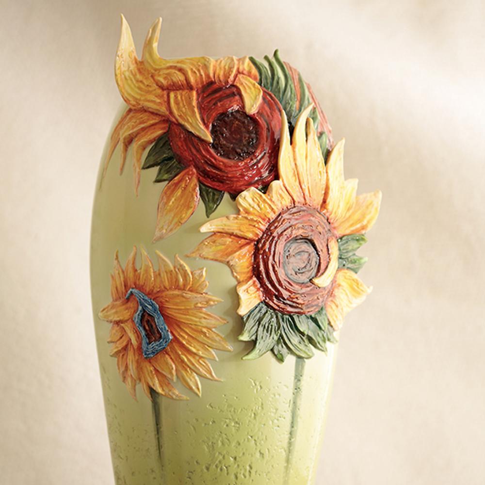 Van Gogh Sunflowers Porcelain Vase | fz02403 | Franz Porcelain Collection