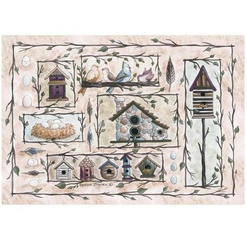 Birdhouse Area Rug | Custom Printed Rugs | CPR18