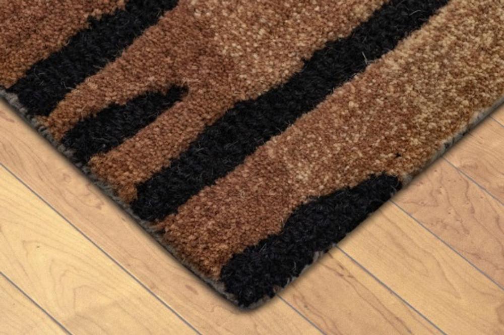 Tiger Print 8' x 10' Wool Area Rug | Trans Ocean | TOGSEV80964419 -3