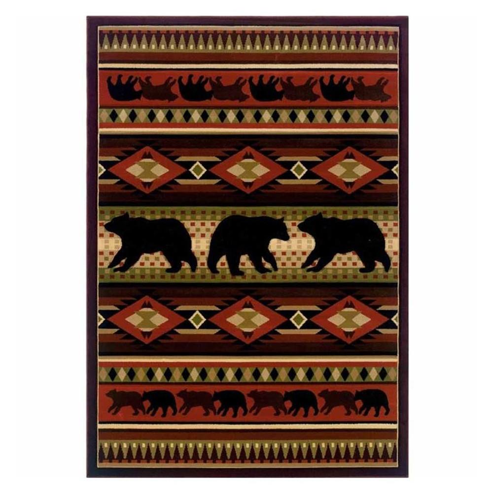 Bear Area Rug Native Bear | United Weavers | 512-25829