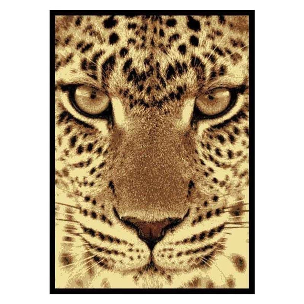 Leopard Face Area Rug | United Weavers | UW910-02750