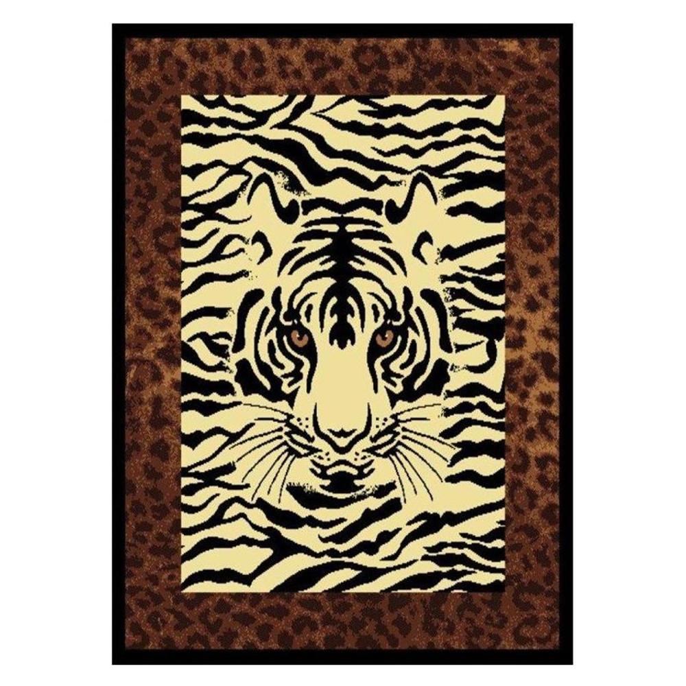 Tiger Area Rug Hidden Eyes Area Rug | United Weavers | UW910-04550