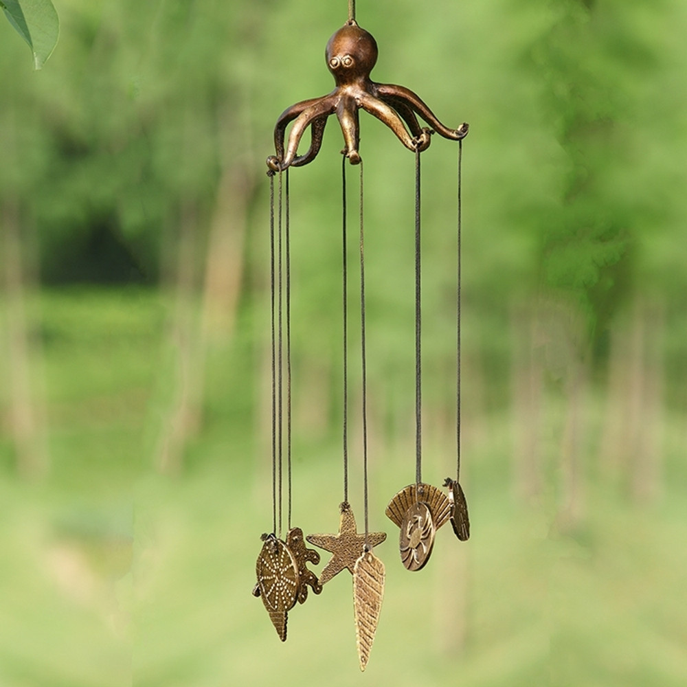 Octopus and Seashell Wind chime | 34234 | SPI Home