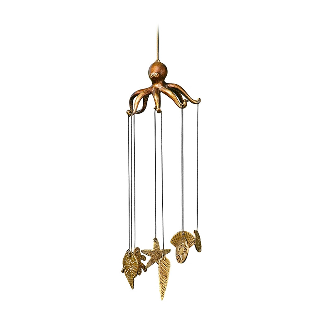 Octopus and Seashell Wind chime | 34234 | SPI Home -2
