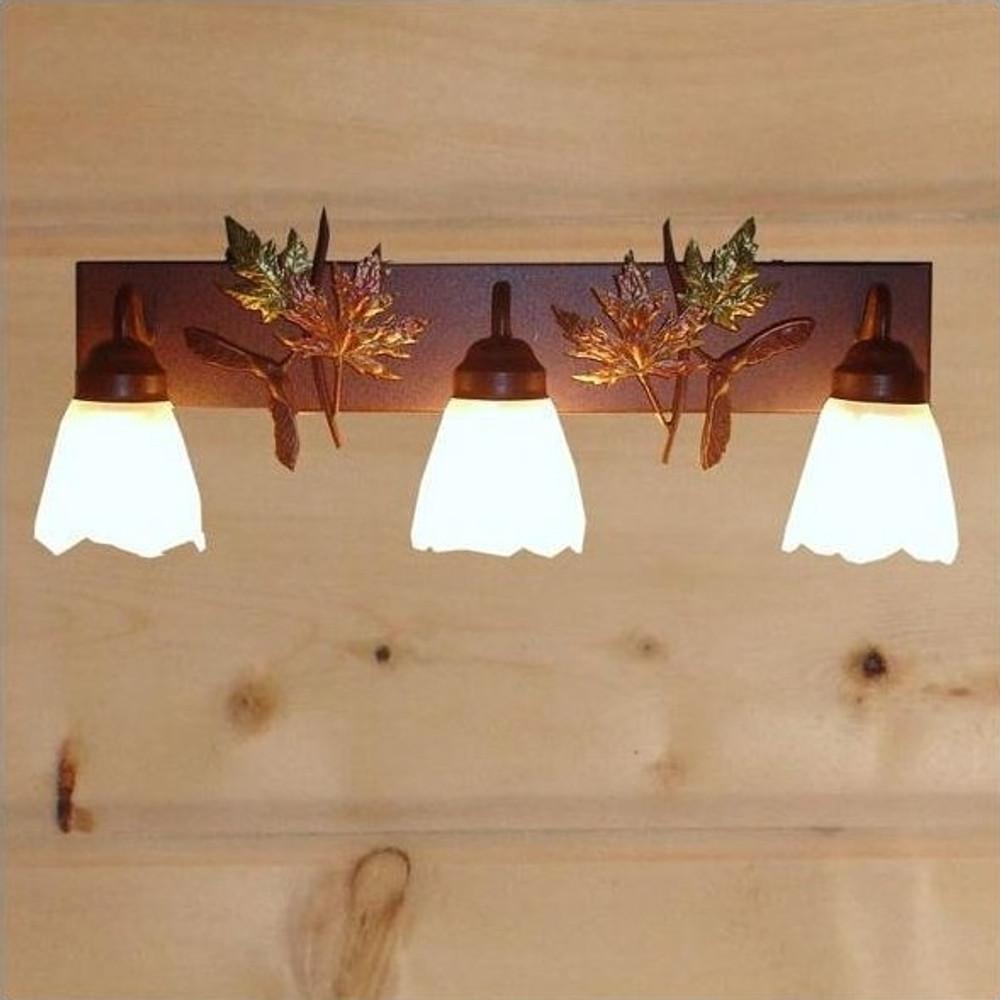 Maple Leaves Vanity Light | Colorado Dallas | CDBL24GS-07FR