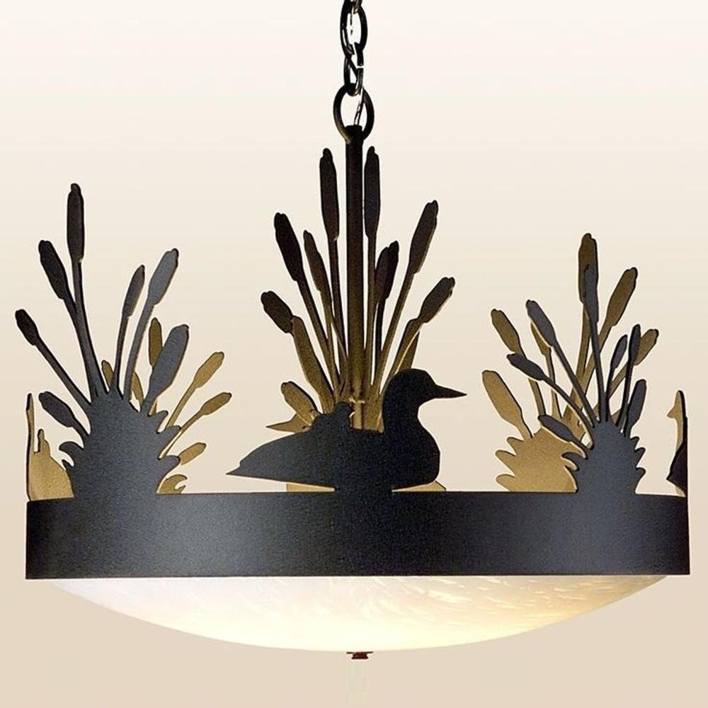 Loon Chandelier Lighting Fixture Decor