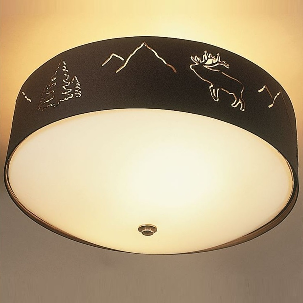 Elk Ceiling Light | Colorado Dallas | CDCL11
