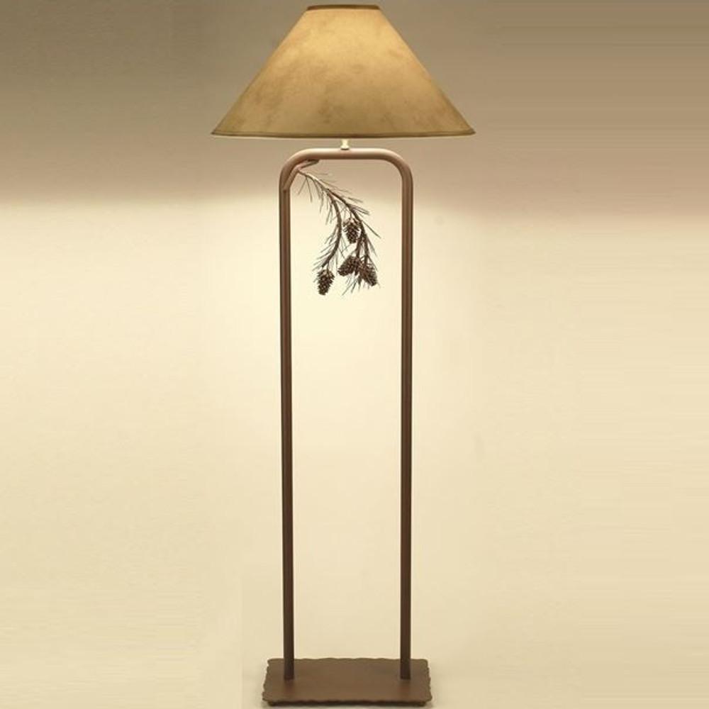 Pinecone Fortress Floor Lamp | Colorado Dallas | CDFLF01SH2159