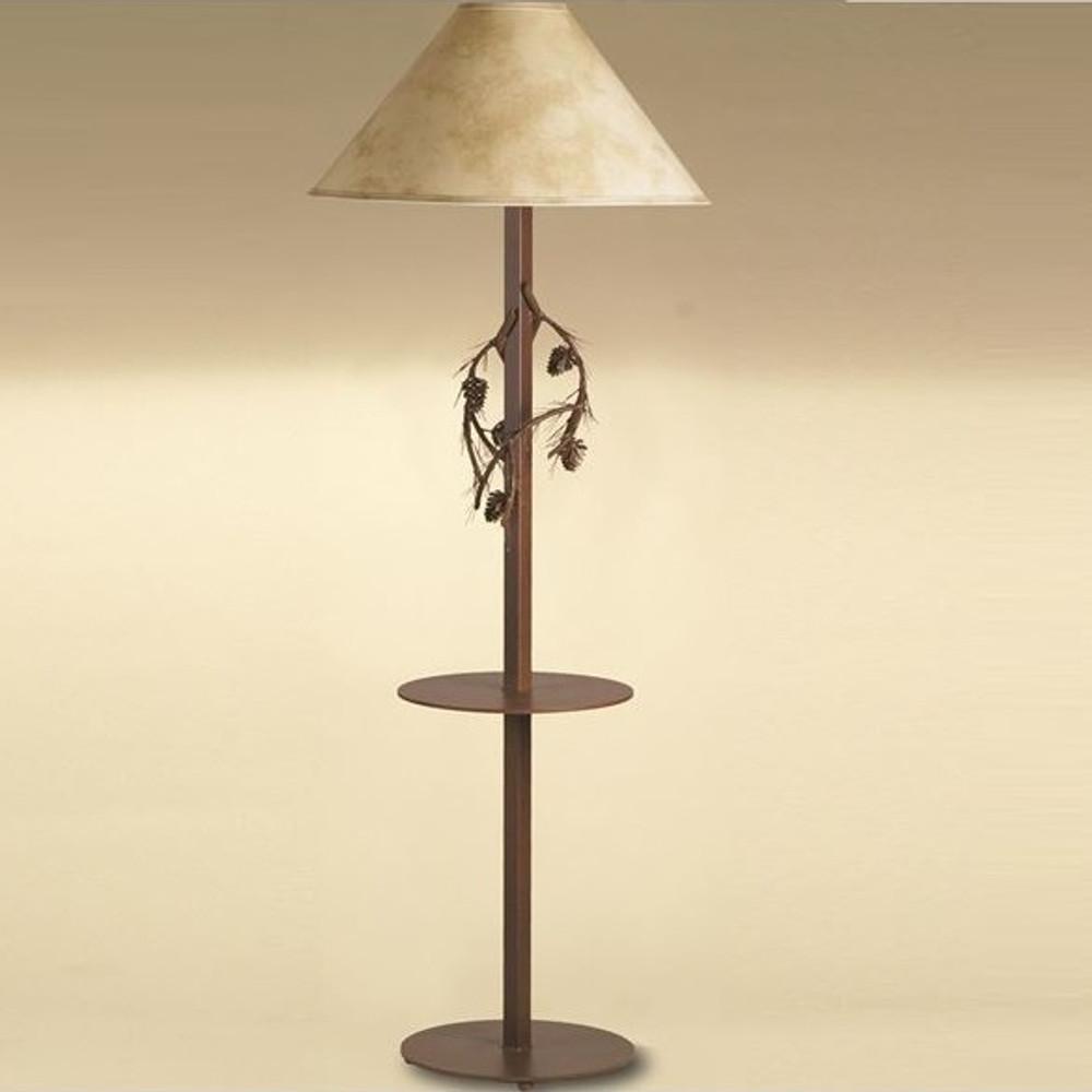 Pine Branch Floor Lamp with Table | Colorado Dallas | CDFLT01SH2159