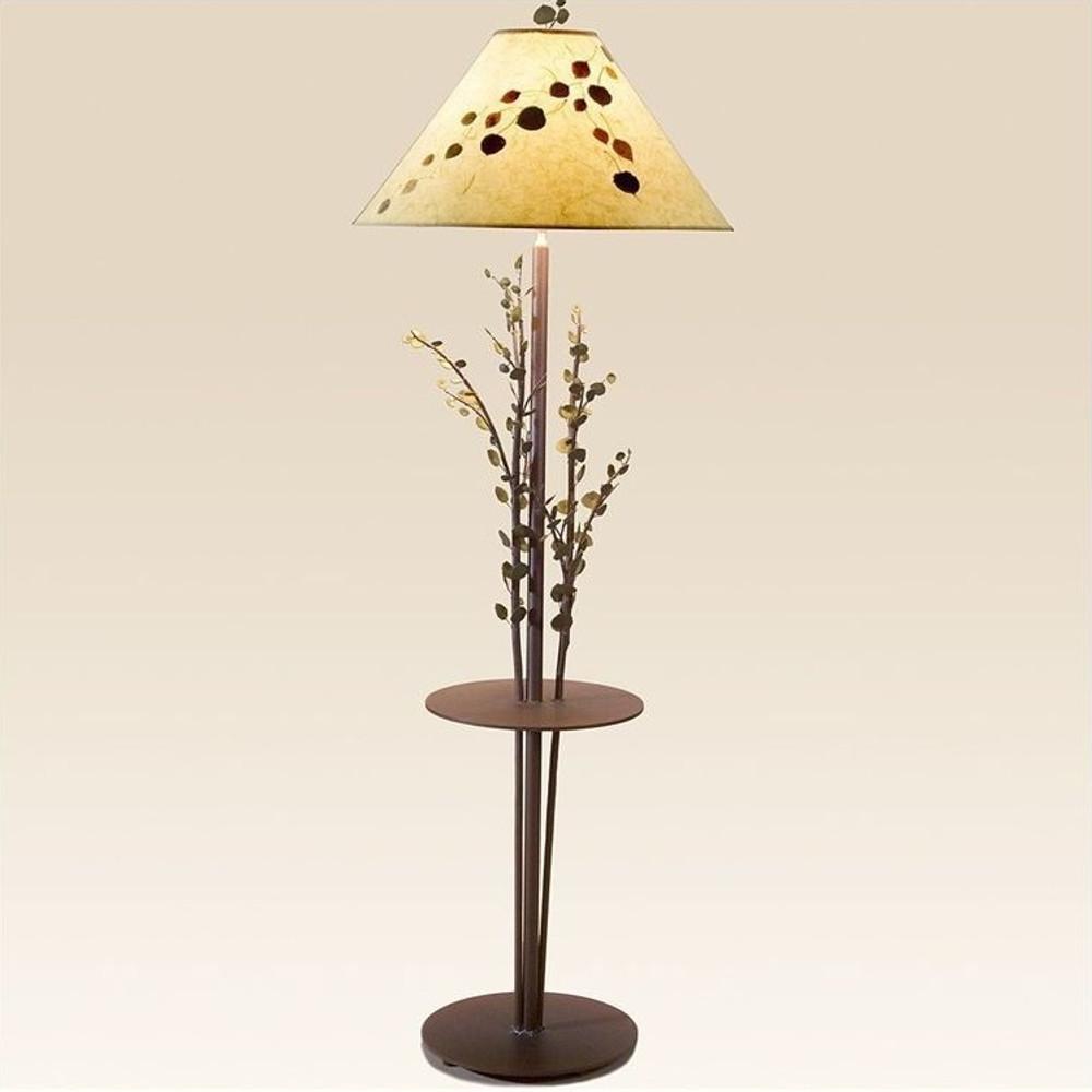Aspen Floor Lamp with Table | Colorado Dallas | CDFLT03SH215903