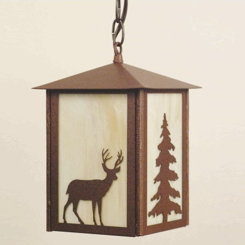 Deer Lantern Pendant Light | Colorado Dallas | CDPLL16131613