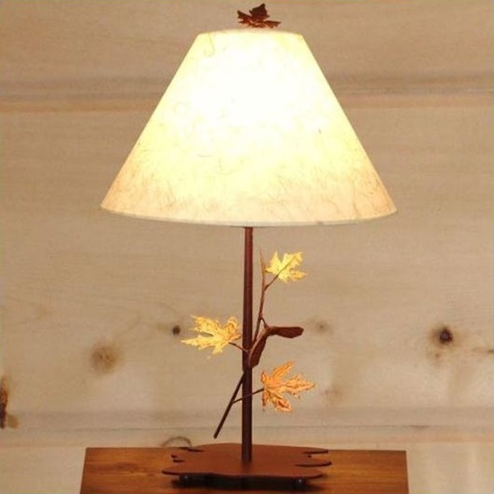 Maple Table Lamp | Colorado Dallas | CDSL0727FR-SH2156RP