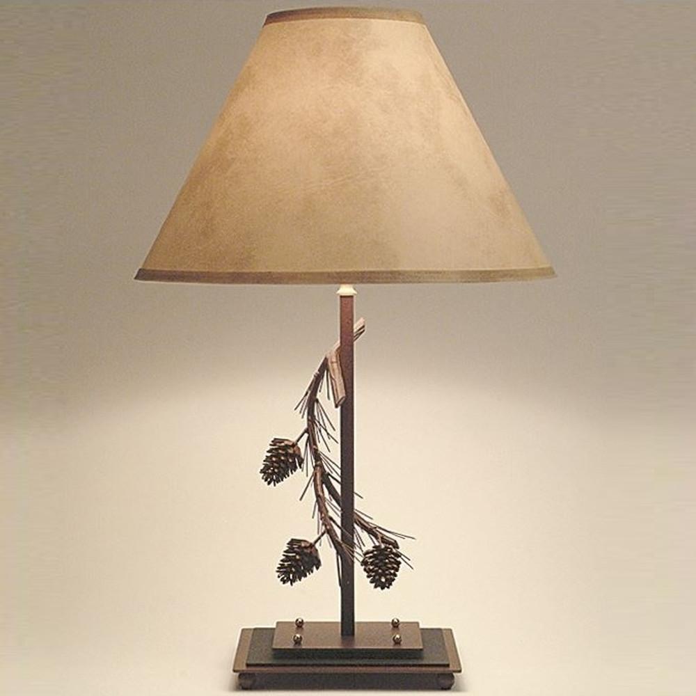 Pinecone Table Lamp | Colorado Dallas | CDTL0127SH2156