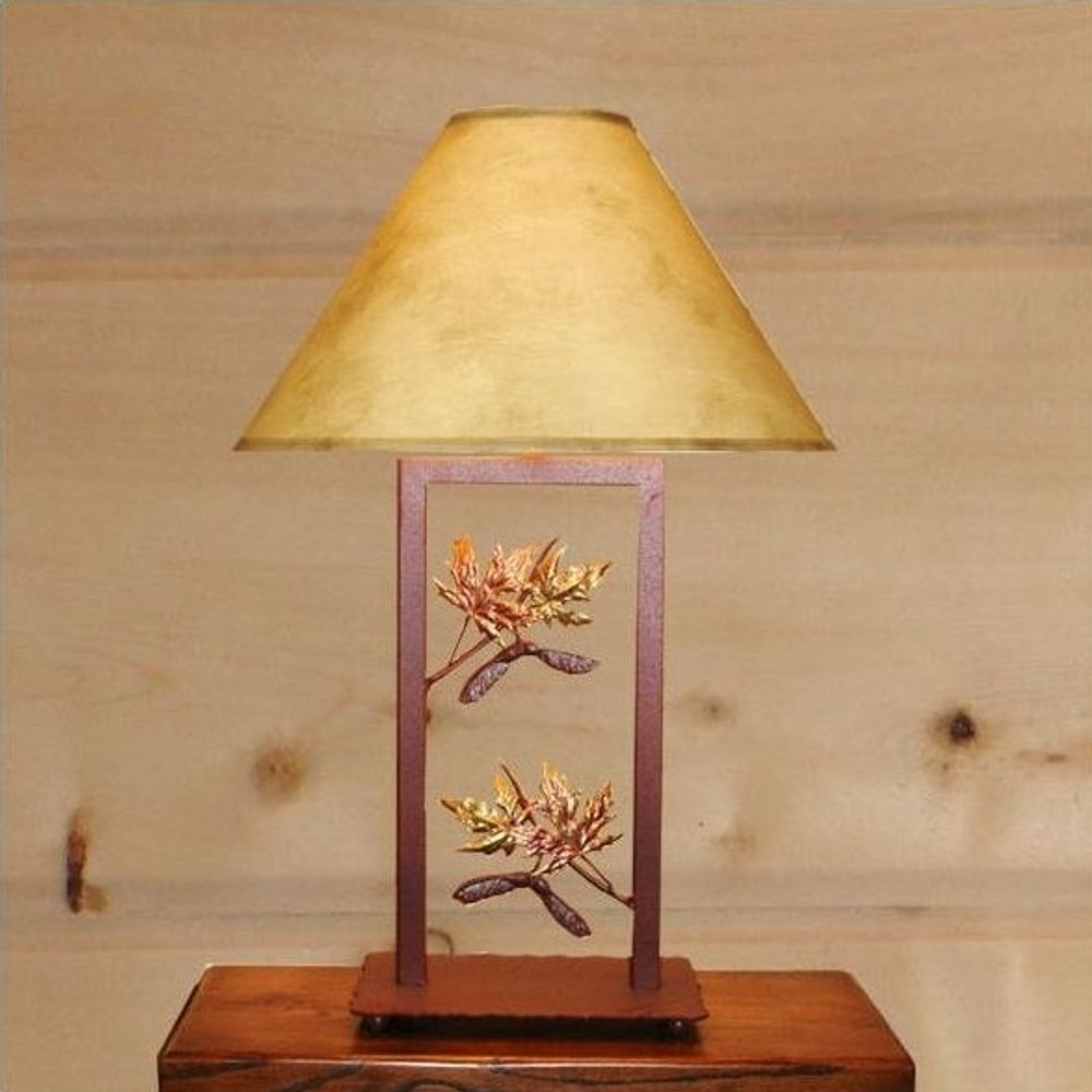 Maple Fortress Table Lamp | Colorado Dallas | CDTLF07FR-SH2158